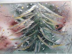 Embedded image permalink Watercolor Christmas Cards, Oil And Gas, Embedded Image Permalink, Photo And Video, Art, Art Background, Kunst, Performing Arts, Art Education Resources