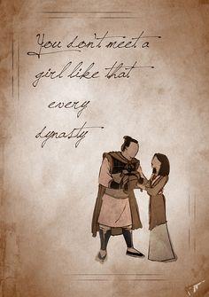 """You don't meet a girl like that every dynasty."" - The Emperor from Mulan Disney Pixar, Arte Disney, Disney Fan Art, Disney And Dreamworks, Disney Magic, Punk Disney, Disney Princess Quotes, Disney Movie Quotes, Disney Couples"