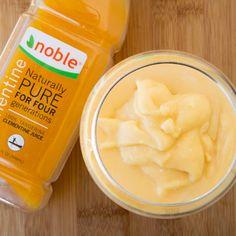 Vegan Clementine Colada using Seminole pride clementine juice, coconut cream and rum #ad