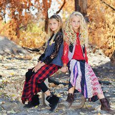 Mini Fashion Addicts Jak and Peppar Boho Shoot Photoshoot Kids Fashion Tween Fashion Kids Boho style photo