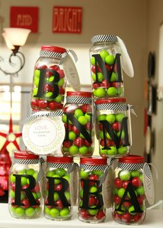 37 gifts in a jar.