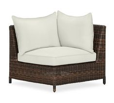 Torrey Outdoor Furniture Cushion Slipcovers #potterybarn