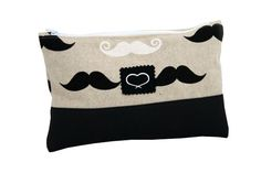 Moustache Tasche Kosmetik Alltag