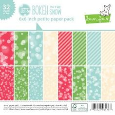 Bokeh 6 x 6 paper pack. $5.75 Please call or text Mom's Memories Scrapbooking Store at 724-350-5028 to order today.