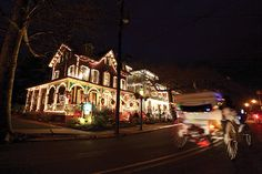 Cape may christmas | At Cape May's Annual Christmas Candlelight Tour of Victorian Homes ... I Want to go so bad