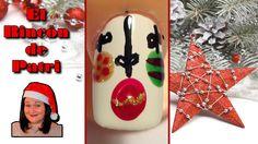 Diseño de uñas bolas de Navidad de El rincón de Patri Nail Art. Sigue todos nuestros diseños de decoración de uñas en http://www.rincondepatri.com Christmas decorations Nail Art