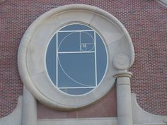 Fibonacci Spiral Window - Women's College, University of Denver