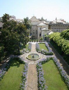 Palazzo Lomellino, gioiello di proprietà privata di Via Garibaldi, tra i più affascinanti Palazzi dei Rolli.
