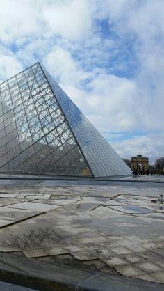 Louvre Paris, France Continents, Paris France, Louvre, Europe, Adventure, Building, Travel, Viajes, Buildings