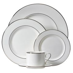 Shop for Lenox Herald Square White Place Setting. Get free delivery On EVERYTHING* Overstock - Your Online Kitchen & Dining Shop! Square Plate Set, Plate Sets, Place Settings, Table Settings, Herald Square, Kitchenware, Tableware, Fine China, Dinnerware