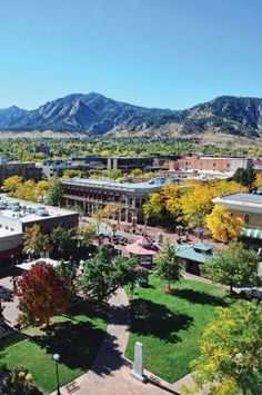 Downtown Boulder - would move here in a heartbeat if we could.
