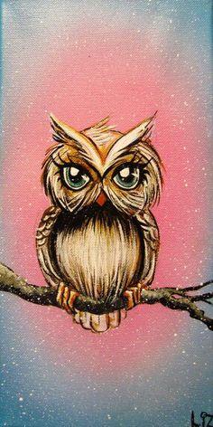 Owls tattoo love it