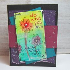 Do what you Love What you do Inspirational by CoyoteMoonPaperCraft
