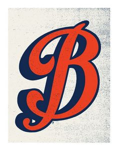Letter B by Methane Studios - Letters - Gallery.  Great archival quality paper and cost only 15 bucks for 11x14.