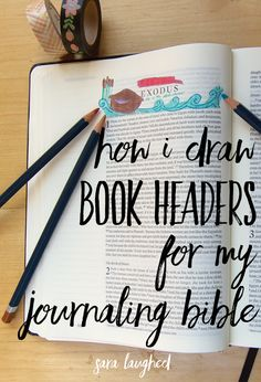 How I draw book head