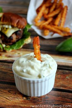 Jalapeño Lemon Mayonnaise. I'm going to use this as a dip for artichoke leaves. YUM!
