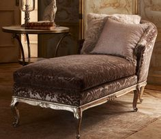 Roses and Rust: fainting couch