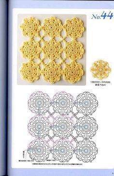 Häkeln rund Kreis Motiv /   crochet motifs round circle  Lots of motifs