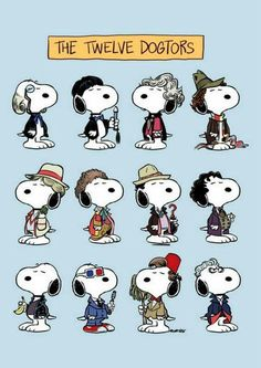 Snoopy as Dr who