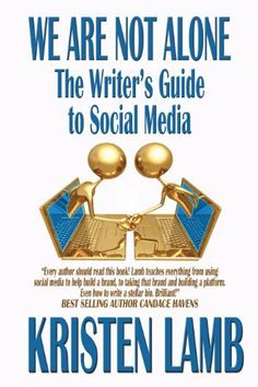 We Are Not Alone: The Writer's Guide to Social Media (Writing) by Kristen Lamb, http://www.amazon.com/dp/B003VD1EQC/ref=cm_sw_r_pi_dp_qFWGpb108YSTB