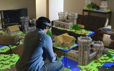 HOLOLENS - Holograms into reality !!! Lors de sa conférence de présentation de Windows 10, Microsoft a présenté l'HoloLens. Un casque qui permet d'insérer des hologrammes dans la réalité.