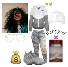 """""""Untitled #116"""" by fxmous-maniiiii ❤ liked on Polyvore featuring NIKE, Chloé and October's Very Own"""