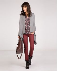 Jeans slim résiné | Jeans et pantalons | Comptoir des Cotonniers