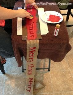 DIY Burlap Christmas Garland Tree Wrap. April Lentkowski Leading Designer #40135. LIKE me on Facebook for giveaways, sales and more!  www.facebook.com/OrigamiOwlAprilSki. Shop online at aprilski.origamiowl.com and email me at alentkowski02@gmail.com!