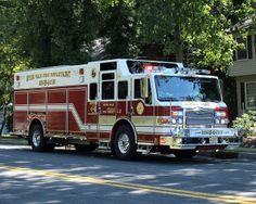 Pierce Rescue Fire Truck, River Vale, New Jersey
