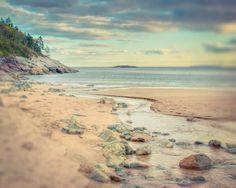"Maine Landscape Photography Print """"Meander"""""