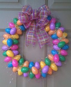 My first DIY easter wreath project :)
