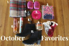 Check out my monthly favorites for October! http://blissfullybrunette.com/?p=5184