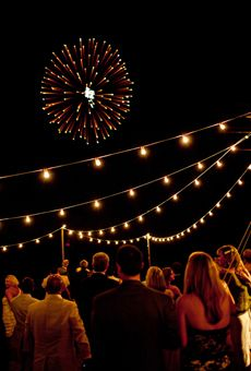 wedding fireworks ideas - Katie Stoops Photography // Bellwether Events