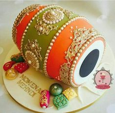 Indian wedding cake More