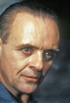 Anthony Hopkins as Hannibal in his penultimate performance in silence of the lambs.