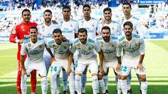EQUIPOS DE FÚTBOL: REAL MADRID contra Alavés 23/09/2017 Liga de 1ª División