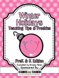 This is the 2012 edition in case you missed it last year...it's a FREE ebook with dozens of holiday tips for teachers and links to free classroom resources. Happy Holidays!