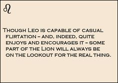 Pinterest : @MazLyons Leo love