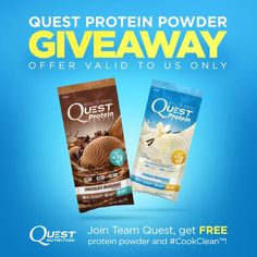 Free Quest Protein Powder Samples