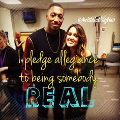 I pledge allegiance to being somebody REAL - Ready or Not by Britt Nicole feat. Lecrae:D Christian Rappers, Christian Music Artists, Christian Quotes, Her Music, Music Is Life, Britt Nicole, Lauren Diagle, We Will Rock You, Faith In God