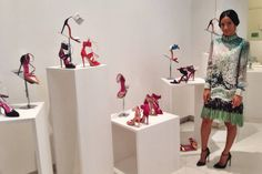 Oscar Tiye Shoe Designer Shows Us Milan Fashion Week - Amina Muaddi MFW Photo Diary - Elle
