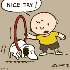 early charlie brown & snoopy