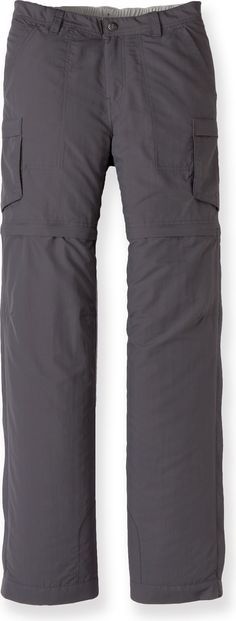 Be ready for any temperature when wearing these convertible pants!