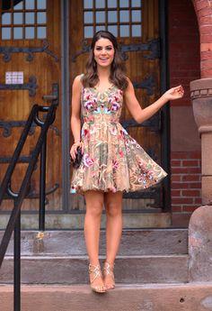 Vestido Flores Camila