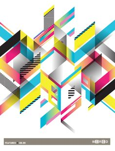 Wired Magazine UK by Fabio Sasso, via Behance
