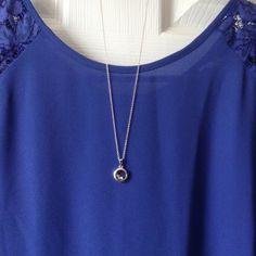 "Selling this ""Beautiful Necklace Zirconia 925 Sterling Silver"" in my Poshmark closet! My username is: nela52. #shopmycloset #poshmark #fashion #shopping #style #forsale # #Jewelry"