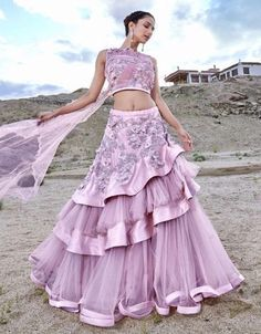 Indian Gowns Dresses, Indian Fashion Dresses, Indian Designer Outfits, Lace Dresses, Designer Clothing, Indian Outfits, Lehenga Saree Design, Lehenga Choli Online, Lehenga Designs