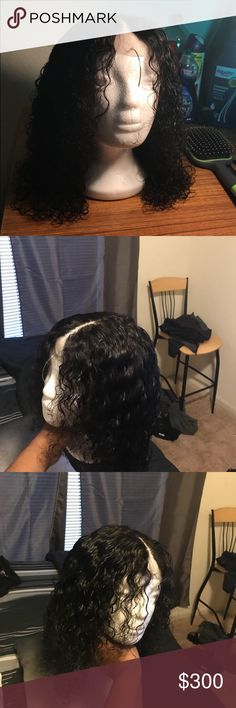 Custom unit Custom unit, length 14', natural color. Free part closure never been worn Other