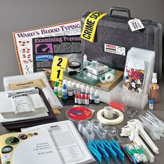 forensic labs | Forensic Detective Lab Activity - Forensics Source.      I want this !!!!!!