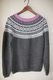 Janes strikkerier: Utradisjonell Marius. Nordic Sweater, Fair Isle Knitting, Sweater Outfits, Knitting Projects, Knits, Clothing, Sweaters, Handmade, Fashion